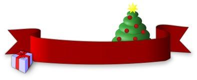 Weihnachtsfarbband Stockbild