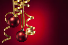 Weihnachtsfarbband Lizenzfreie Stockfotos