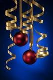 Weihnachtsfarbband Lizenzfreies Stockfoto