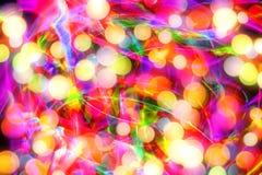 Weihnachtsfarbhintergrund Stockfotos
