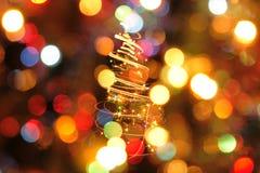 Weihnachtsfarbhintergrund Lizenzfreies Stockbild