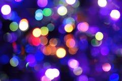 Weihnachtsfarbhintergrund Stockfoto