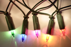 Weihnachtsfeenhafte Leuchten Lizenzfreie Stockbilder