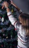Weihnachtsfeier Lizenzfreie Stockfotos
