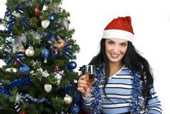 Weihnachtsfeier Stockfotos