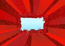 Weihnachtsfeierstern-Explosionvorstand Lizenzfreies Stockfoto