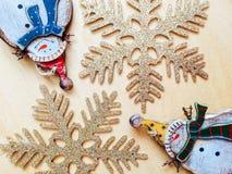 Weihnachtsfeiertags-Dekorationen Stockfotografie