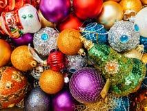Weihnachtsfeiertags-Dekorationen Lizenzfreie Stockbilder