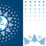 Weihnachtsfeiertags-Grußkarte Lizenzfreie Stockbilder