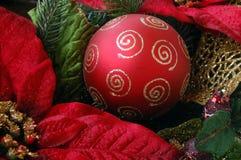 Weihnachtsfeiertags-Tapete Stockbilder