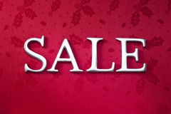 Weihnachtsfeiertags-Verkaufs-Hintergrund Lizenzfreie Stockfotos