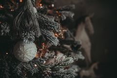 Weihnachtsfeiertags-Weinlesedekorationen stockfotografie