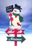 Weihnachtsfeiertags-Zeichen Stockfoto