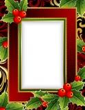 Weihnachtsfeld Stockfoto