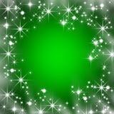 Weihnachtsfeld Lizenzfreies Stockbild