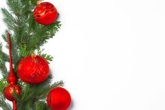 Weihnachtsfeld Stockfotografie