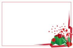 Weihnachtsfeld Lizenzfreie Stockfotos