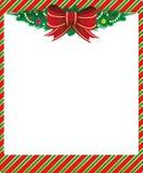 Weihnachtsfeld Stockbild