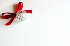 Weihnachtsfeld für Schreiben Lizenzfreies Stockbild