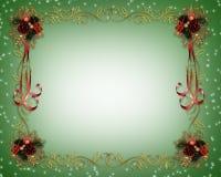 Weihnachtsfeld-Fantasie-Rand lizenzfreie abbildung