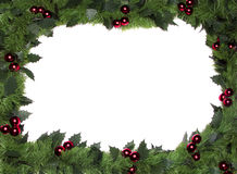 Weihnachtsfeld, Rand lizenzfreies stockfoto