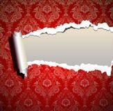 Weihnachtsfeld-Tapetenhintergrund Lizenzfreies Stockfoto