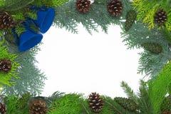Weihnachtsfelddekoration lizenzfreies stockfoto