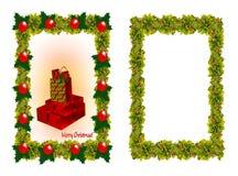 Weihnachtsfelder Stockfotos