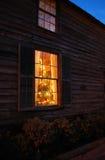 Weihnachtsfenster Lizenzfreies Stockbild