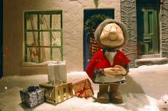 Weihnachtsfenster Stockfotografie