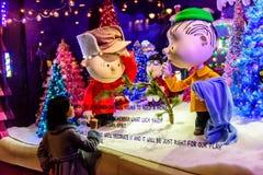 Weihnachtsfenster-Anzeige Lizenzfreie Stockbilder