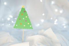Weihnachtsfertigkeit-Dekoration Stockfotografie