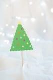 Weihnachtsfertigkeit-Dekoration Stockfoto