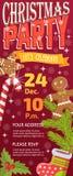 Weihnachtsfest invintation Vektorkartenhintergrund-Designschablone für noel Weihnachtsfeiertagsfeier clipart neues Jahr Lizenzfreie Stockfotos