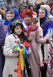 Weihnachtsfest Malanka Fest_3 Stockbild