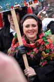 Weihnachtsfest Malanka Fest_20 Lizenzfreie Stockfotos