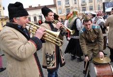 Weihnachtsfest Malanka Fest_10 Stockbilder