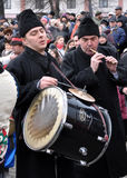 Weihnachtsfest Malanka Fest_13 Stockfotos