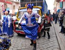 Weihnachtsfest Malanka Fest_46 Lizenzfreie Stockfotografie