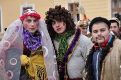 Weihnachtsfest Malanka Fest_37 Stockfotos