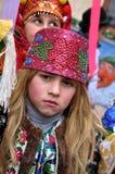 Weihnachtsfest Malanka Fest_43 Stockfotos