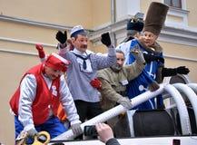 Weihnachtsfest Malanka Fest_62 Lizenzfreies Stockbild