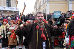 Weihnachtsfest Malanka Fest_17 Lizenzfreies Stockfoto