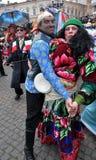 Weihnachtsfest Malanka Fest_8 Lizenzfreies Stockfoto