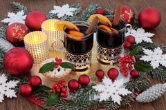 Weihnachtsfest-Zeit Lizenzfreies Stockbild