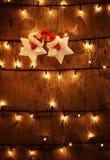 Weihnachtsfestlicher Hintergrund Lizenzfreie Stockfotos