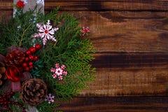 Weihnachtsfestlicher Hintergrund Lizenzfreie Stockfotografie
