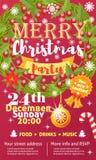 Weihnachtsfestvektorkartenhintergrund-Designschablone für noel Weihnachtsfeiertagsfeier clipart neues Jahr Stockfoto