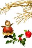 Weihnachtsfigürchen I Stockbild