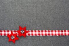 Weihnachtsfilzhintergrund Lizenzfreie Stockbilder